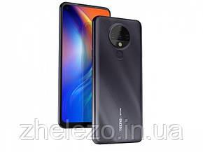 "Смартфон Tecno Spark 6 (KE7) 4/64GB Dual Sim Comet Black (4895180762031); 6.8"" (1640х720) IPS / MediaTek Helio, фото 2"