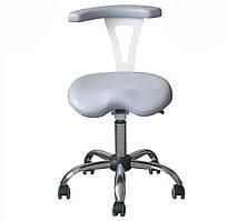 Крісло лікаря-стоматолога з поворотним підлокітником, стілець асистента стоматолога ASSIST DService