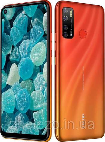 "Смартфон Tecno Spark 5 Pro (KD7) 4/128GB Dual Sim Spark Orange (4895180760280); 6.6"" (1600х720) IPS / MediaTek, фото 2"