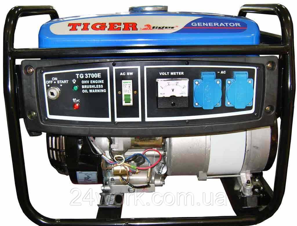 Генератор бензиновый Tiger TG3700 (2,5 кВт)