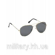 Льотні окуляри з золотистою оправою армії США, [999] Multi