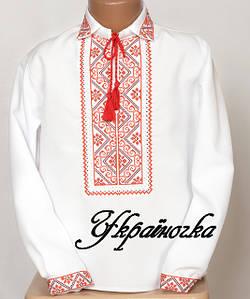 Вышиванки для мальчиков (рубашки, шаровары, пояса)