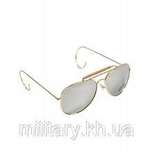 Льотні окуляри з футляром армії США, [1248] Дзеркальний