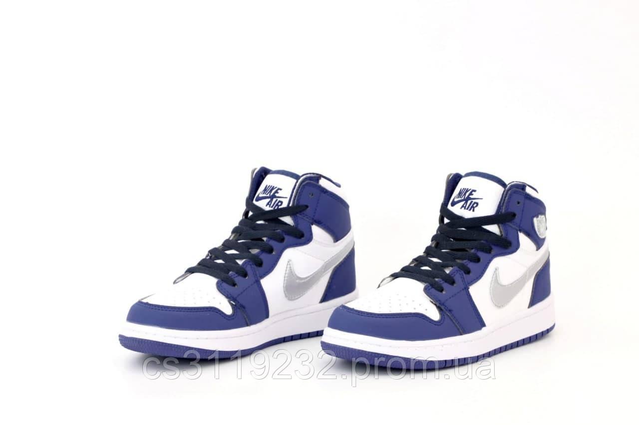 Жіночі кросівки Blue (Блакитний) Найк Джордани