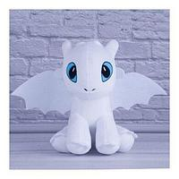Мягкая игрушка дракон беззубик Дневная Фурия 30 см. Как приручить дракона