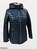 """Жіноча демісезонна коротка куртка великих розмірів """"Віка"""", фото 6"""
