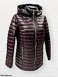 """Жіноча демісезонна коротка куртка великих розмірів """"Віка"""", фото 9"""