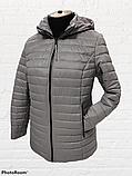 """Жіноча демісезонна коротка куртка великих розмірів """"Віка"""", фото 10"""