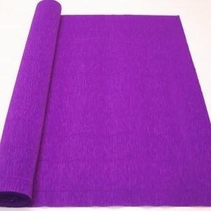 Гофробумага (креп папір) 2.5 м Фіолетовий