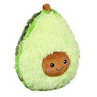 Детская Мягкая игрушка Авокадо Подушка анти стресс Squishable 27 см