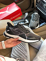 Мужские кроссовки Puma Hybrid Runner V2 Черные, Реплика