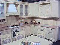 Изготовление кухонной мебели из массива дерева, фурнитура LINKEN под заказ