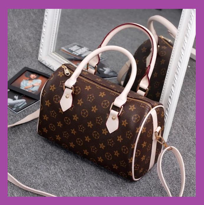Женская сумка в стиле Луи Витон, Стильная женская сумка классическая коричневая, Модные женские сумки дешево