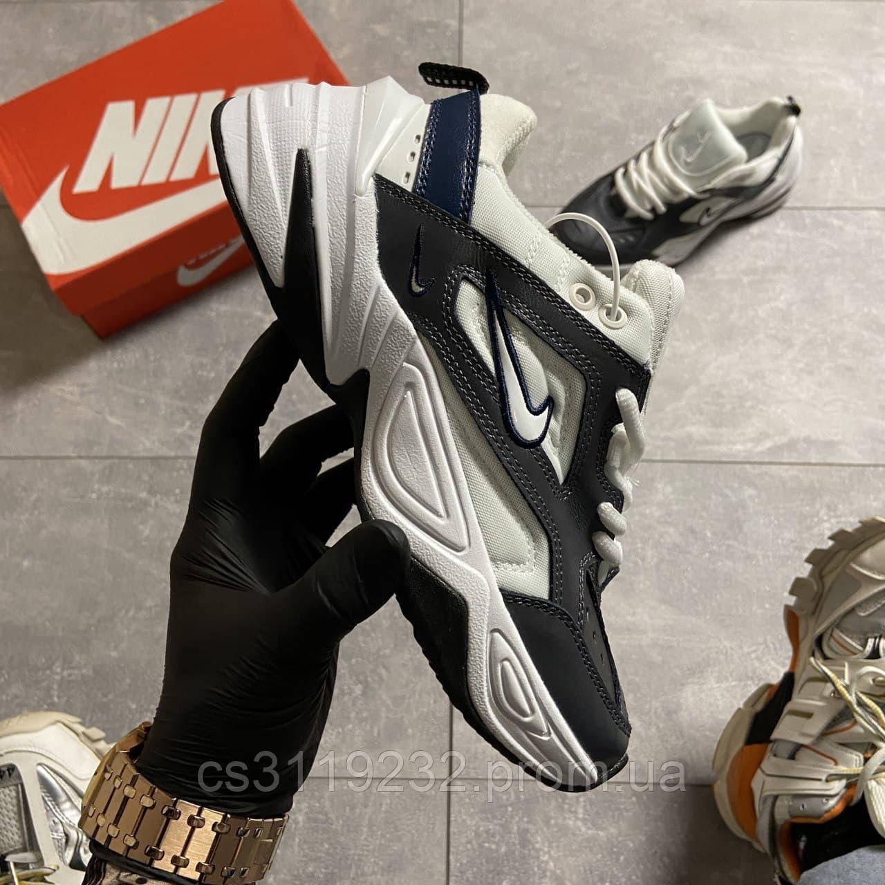 Мужские кроссовки Nike Nike M2K Tekno Dark Gray Aura  (серые)