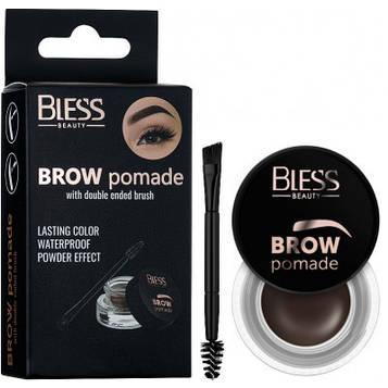 Помадка-гель для бровей Bless Beauty Brow Pomade - №3 (Dark Brown)
