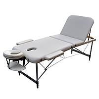 Массажный стол ZENET ZET-1049 размер L ( 195*70*61) Бежевый