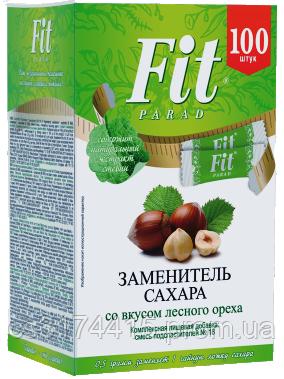 Цукрозамінник ФитПарад №18 в стіках (1:10) смак Лісовий Горіх (50 грам)