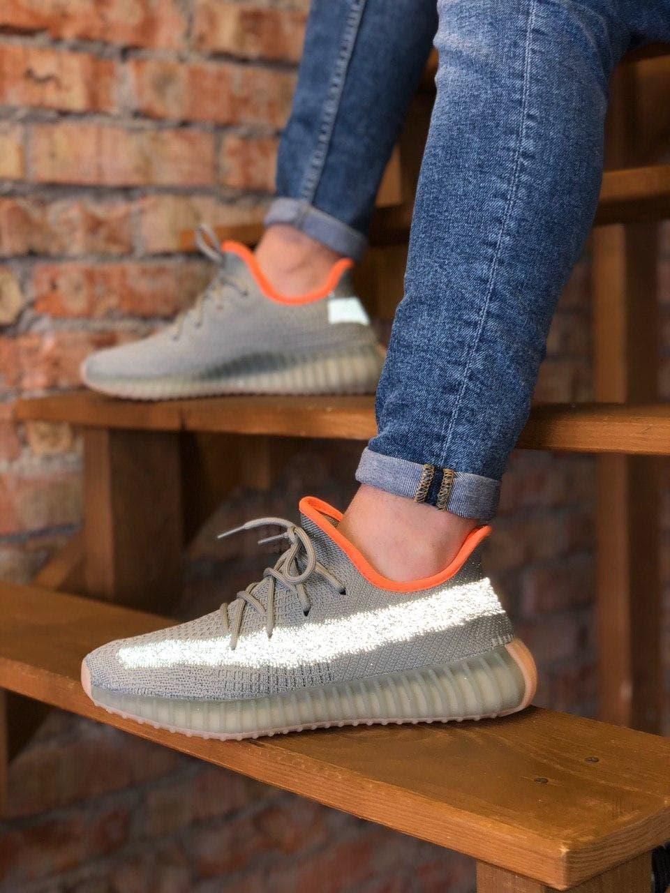 Чоловічі кросівки Adidas Yeezy Boost 350 V2 Desert Sage