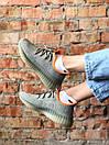 Чоловічі кросівки Adidas Yeezy Boost 350 V2 Desert Sage, фото 7