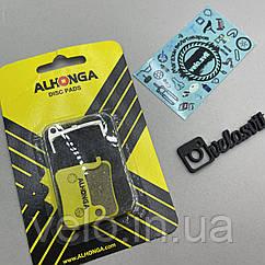 Велосипедні гальмові колодки дискові ALHONGA HJ-DS04
