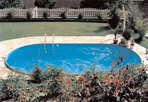 Сборный каркасный бассейн Hobby Pool TOSCANA 4,16 х 10,00 х 1,5м пленка 0.6мм