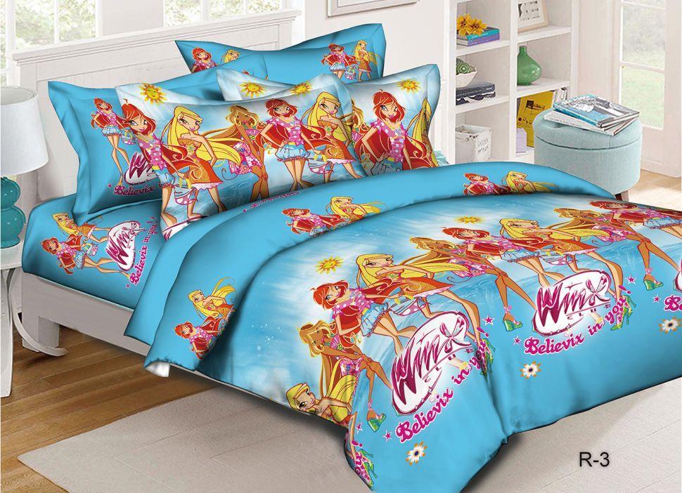 Полуторное подростковое постельное белье ранфорс ТМ Марсель