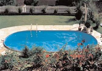 Збірний каркасний басейн Hobby Pool TOSCANA 4,16 х 8,00 х 1,5 м плівка 0.6 мм