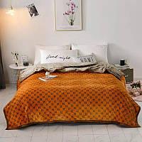 Плед на кровать/диван Hermes
