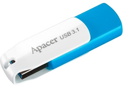 Flash Drive Apacer AH357 32GB (AP16GAH357U-1) Blue/White