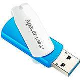 Flash Drive Apacer AH357 32GB (AP16GAH357U-1) Blue/White , фото 2