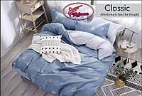 Двоспальне постільна білизна з листям