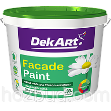 "Фарба водно-дисперсійна фасадна Faсade Paint ТМ ""DekART"", 6,3 кг (біла)"