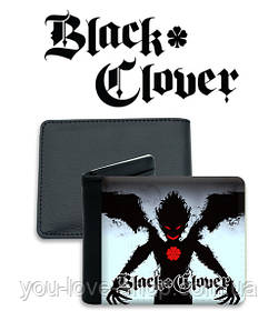 "Кошелек Черный Клевер ""Monster"" / Black Clover"