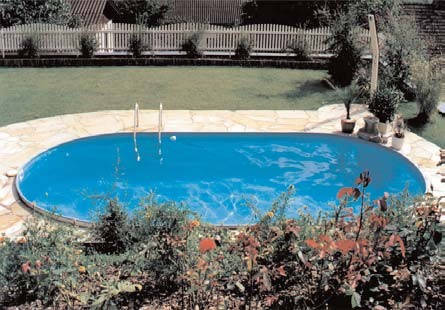 Сборный каркасный бассейн TOSCANA 5,00 х 9,00 х 1,2м