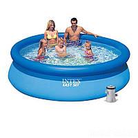 Надувной бассейн Intex 28122, 305 х 76 см (Фильтр насос 1 250 л/ч)