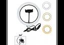 Кільцева лампа 26 см зі штативом 2,1 м. | Селфи кільце для телефону Ring Fill Light, фото 4