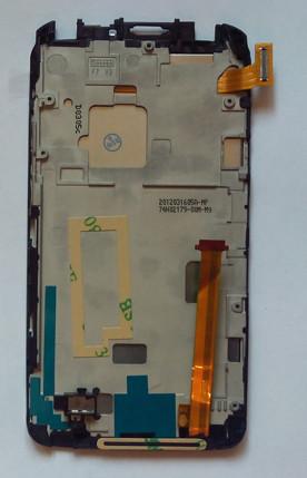 HTC One X S720e G23 дисплей + сенсор + рамка оригінальний тачскрін