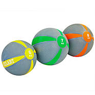 М'яч медичний медбол Zelart Medicine Ball 1-10кг., фото 2