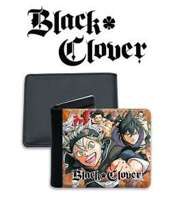 "Кошелек Черный Клевер ""Rage"" / Black Clover"