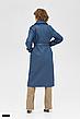 Жіночий плащ тренч довгий стильний стьобаний розміри:42-50, фото 6