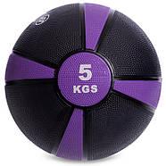 М'яч медичний медбол Zelart Medicine Ball 1-10кг., фото 6