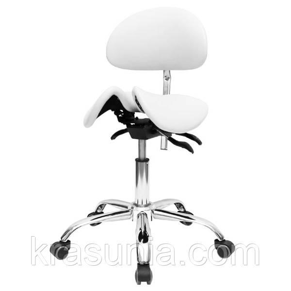 Стул-седло мастера с раздвижным сидением 4008-1
