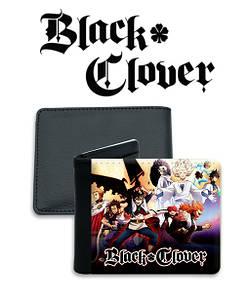 "Кошелек Черный Клевер ""Crowd"" / Black Clover"