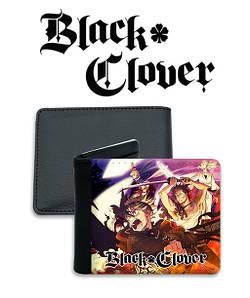 "Кошелек Черный Клевер ""Fighting"" / Black Clover"