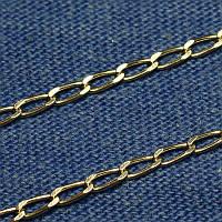 Цепочка из серебра женская Ромб 50 см С-09
