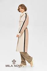 Пальто-рубашка женское стильное демисезонное крутое и яркое размеры: 42-48, фото 2