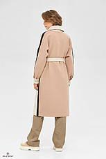Пальто-рубашка женское стильное демисезонное крутое и яркое размеры: 42-48, фото 3