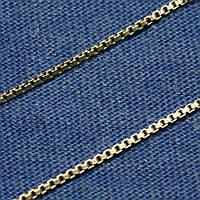Женская серебряная цепочка на шею Венецианская 56 см С-9