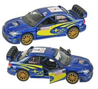 Машинка KINSMART Subaru Impreza WRS