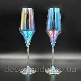 Свадебные бокалы Rona Aram 220 мл перламутр